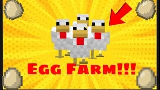 Minecraft Simple and Easy Egg Farm!