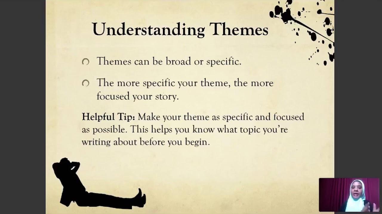 Writing Themes