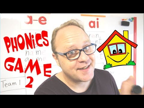 Phonics Game 2 - ESL Games And Teaching Tips