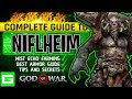 Complete Guide to Niflheim | How to Get the Best Armor & Fully Upgrade It | God of War 2018 (GOW)