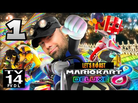 A Guy & Two Robots Play Mario Kart 8 Deluxe [Part 1/2]