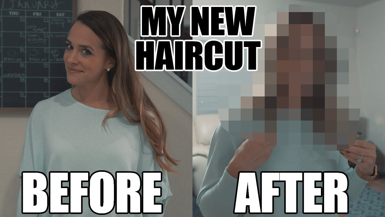 Aubries New Haircut Friends And My Reaction To My Wifes New