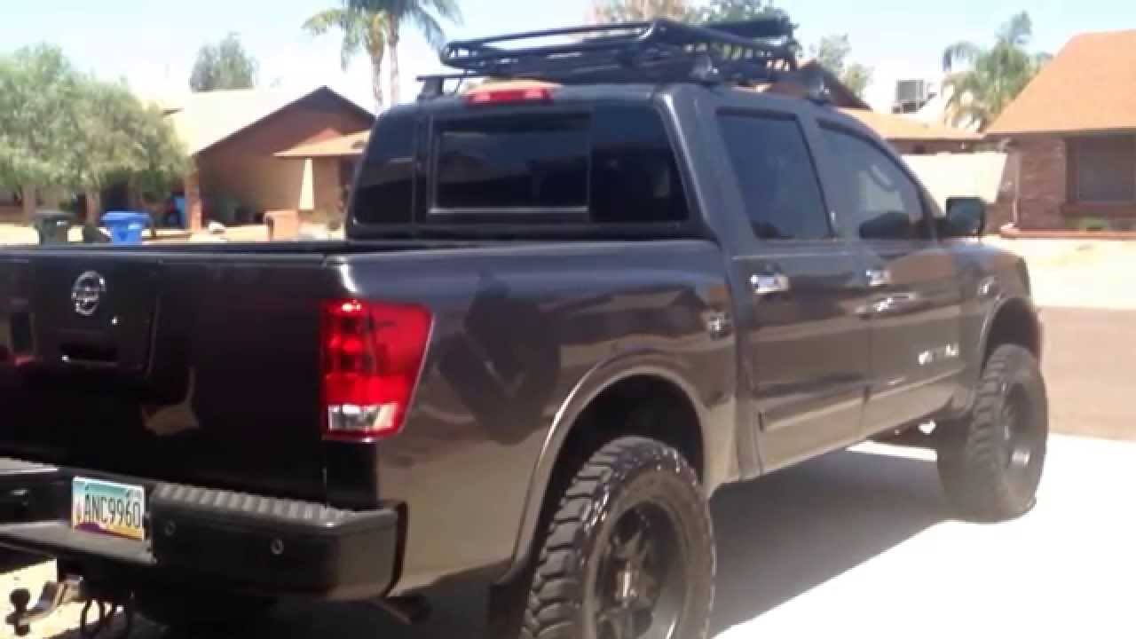2010 Nissan titan roof rack yes Roof Rack  YouTube