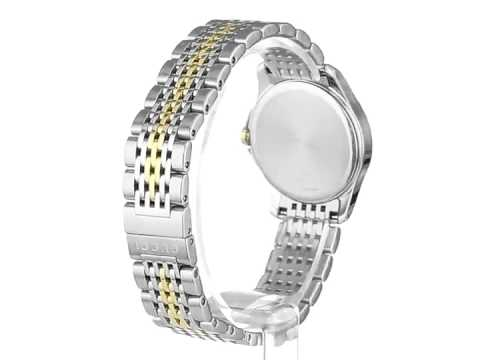 db2c77dd78f Gucci Women s YA126513 G Timeless Stainless Steel Watch with Yellow Gold  PVD Links - YouTube