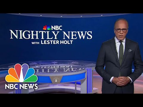 Download Nightly News Full Broadcast - October 25th