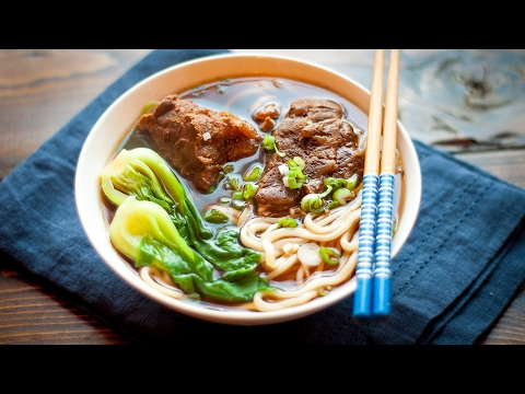 Beef Noodle Soup —  Slow Cooker Recipe