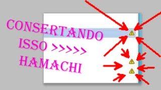 Hamachi ... Error De VPN (Triangulo amarelo) Problemas no Encapsulamento Direto