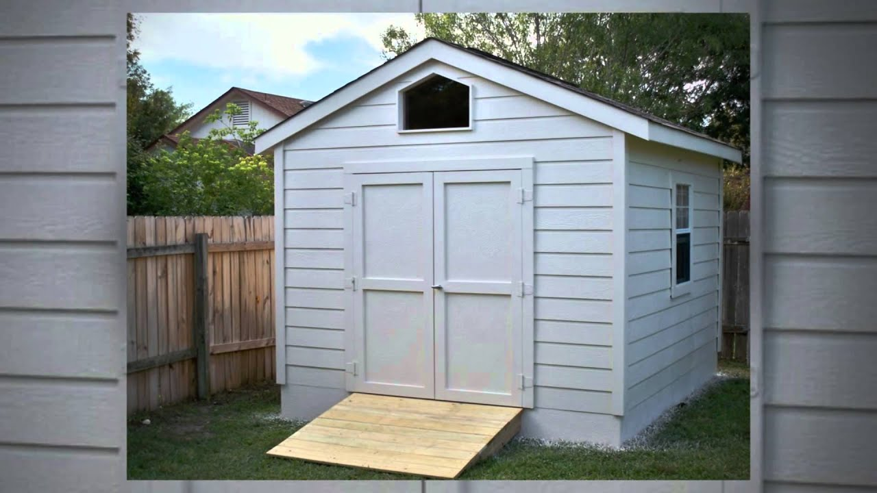 Gable Storage Sheds Examples By ShedsAndMore Austin, Texas