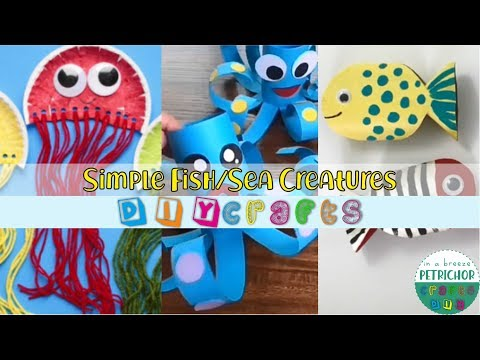 simple-crafts-to-do-at-home---how-to-make-fish/sea-creatures-for-kids-crafts---amazing-diy-ideas