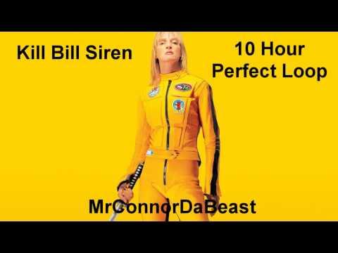 [10 HOUR PERFECT LOOP] Kill Bill Siren Sound - Ironside by Quincy Jones