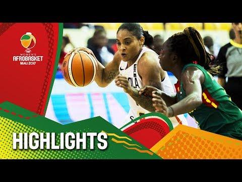 Angola v Cameroon - Highlights - FIBA Women's AfroBasket 2017