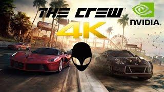 alienware area 51 the crew gameplay 4k 60fps ultra gtx 980 sli