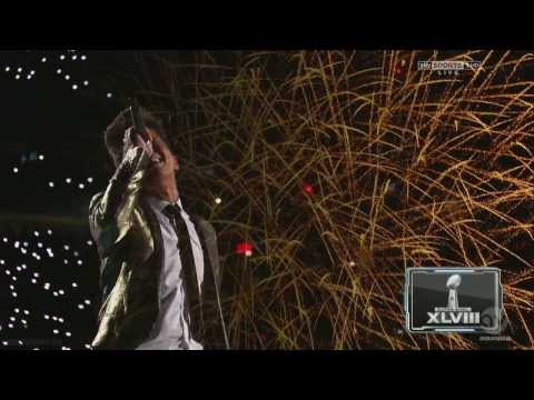 Bruno Mars, Red Hot Chili Super Bowl 2014 full halftime show