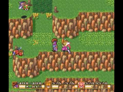 Secret of Mana gameplay video