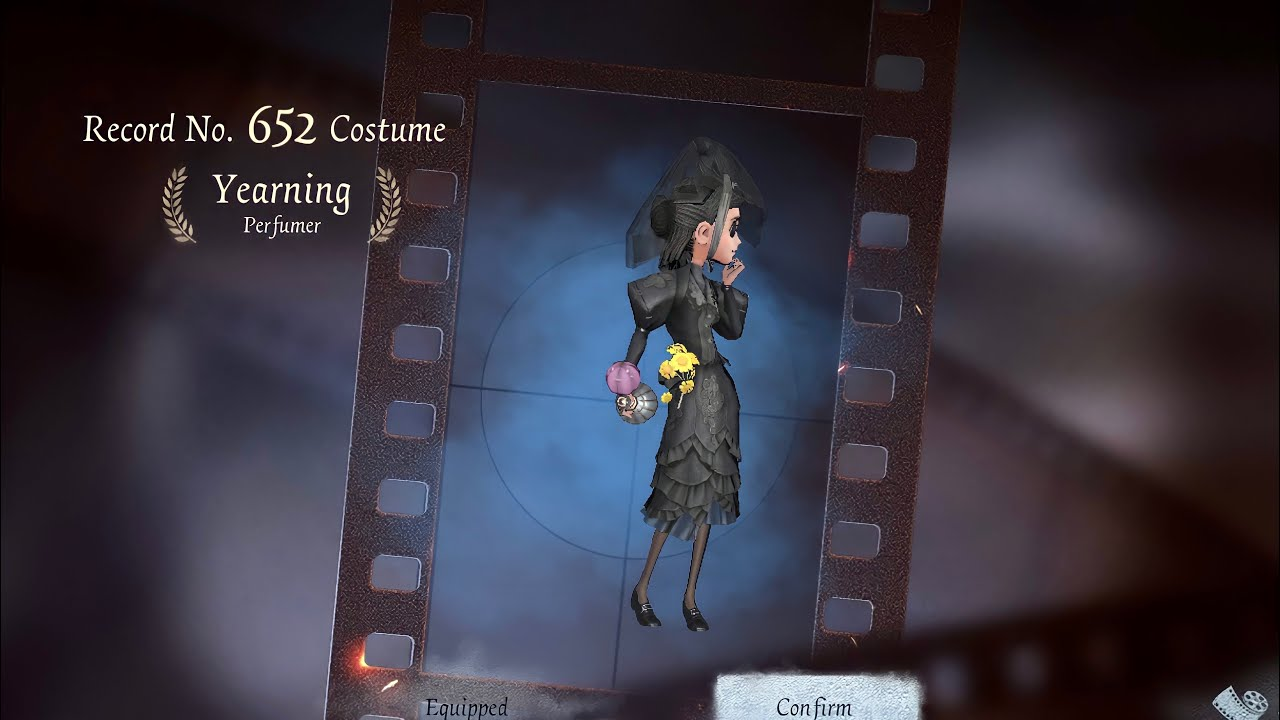 """Identity V   IT LOOKS SO GOOD for a B-Skin!   Perfumer """"Yearning"""" Event Costume Gameplay"""