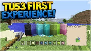 Minecraft Console Edition - TITLE UPDATE 53 First Experience Showcase (Console Edition)