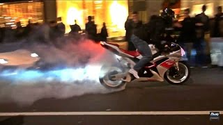 Yamaha R1 TRIES TO IMPRESS Crowds in London!