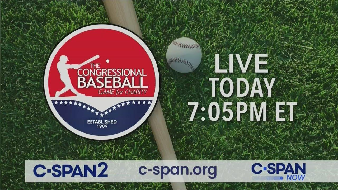Biden and Pelosi Work the Congressional Baseball Game