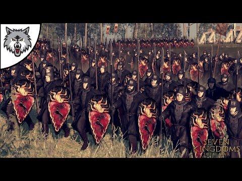 BATTLE OF BLACKWATER - Seven Kingdoms Total War Mod Gameplay