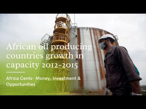 African oil producing countries growth in capacity 2012-2015