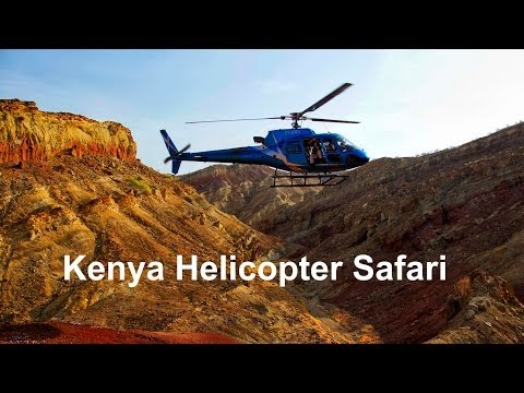 Kenya Helicopter Safari - The Ultimate Africa Travel Adventure
