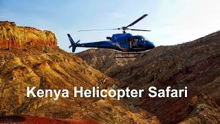 Kenya Helicopter Safari - Wildlife and Aerial Photography Safari