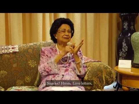 Upclose With Tun Siti Hasmah