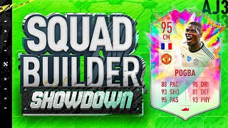 Fifa 20 Squad Builder Showdown!!! SUMMER HEAT POGBA VS W2S!!!