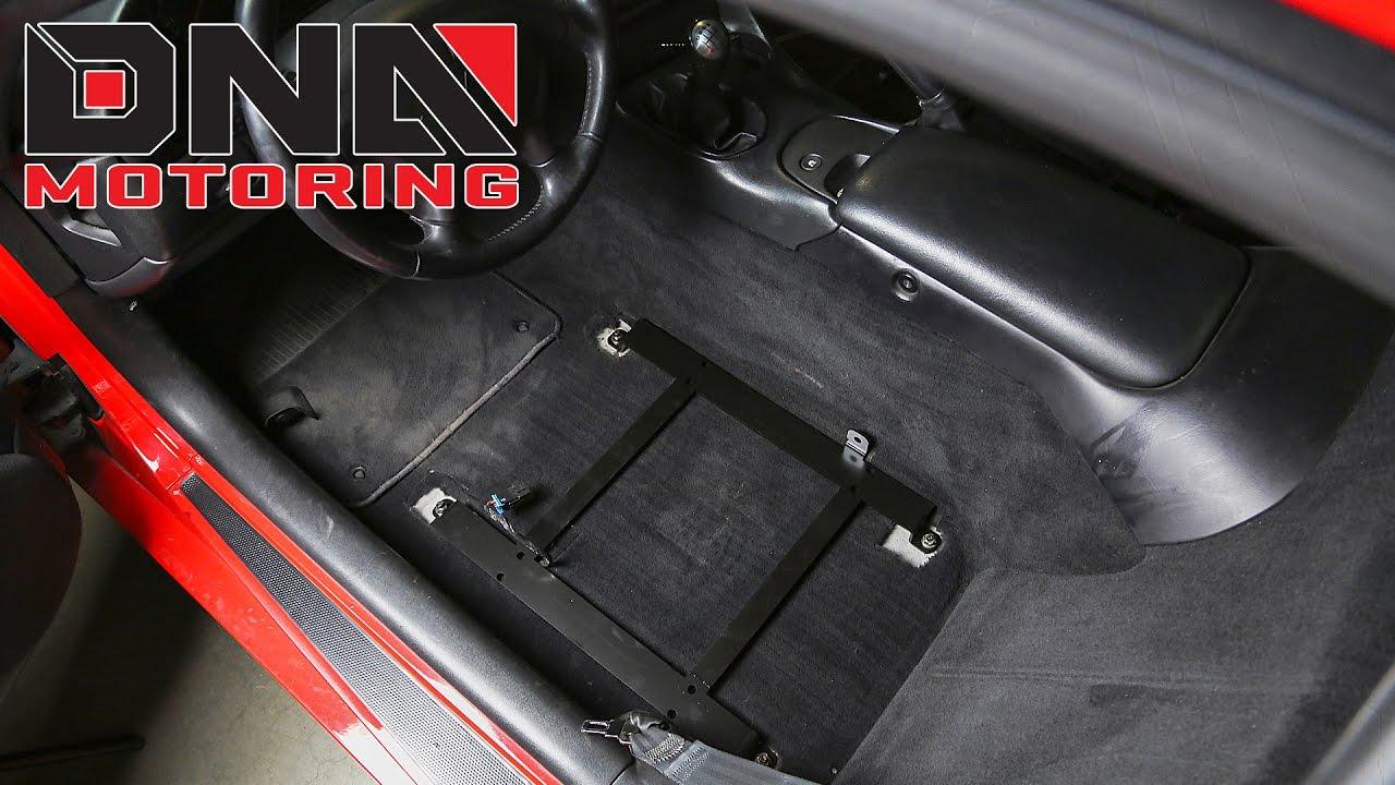 DNA Motoring 97-04 Chevy Corvette C5 Seat Bracket ...