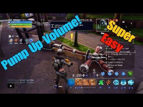 Fortnite (STW) Pump Up Volume! - Rebuild 2 Survivor Relays (Guide)