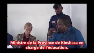 Remise de brevets de fin de formation à la 5éme promotion de l'Ecole Normale DNS Mbankana.