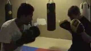 Pad Work Boxing Training For Mma