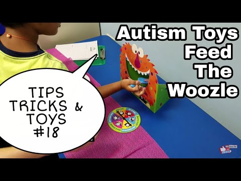 AUTISM Social Games- Tips Tricks Toys #18 Feed the Woozle Game by Peaceable Kingdom Fine and Gross