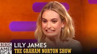 Lily James ❤️The Spice Girls | The Graham Norton Show | BBC America