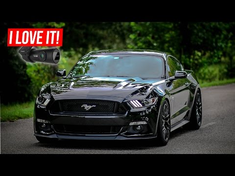 BEST DASHCAM! 2016 Mustang GT + BlackVue DR650S-2CH Install And Footage!