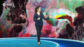 Earth from Space: Psychedelic seabed