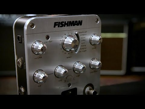 Fishman Aura® Spectrum DI Preamp with Greg Koch