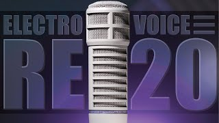Electro-Voice RE20 Dynamic Broadcast Microphone Review / Test