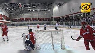 Команда Президента выиграла первый матч финальной серии турнира любителей хоккея