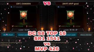 Clash Of Kings : DC S8 TOP 16 SR1 1541 vs MVP 426 | Both Team Well Played
