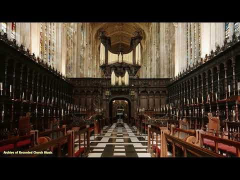 BBC Choral Evensong: King's College Cambridge 1956 (Boris Ord)