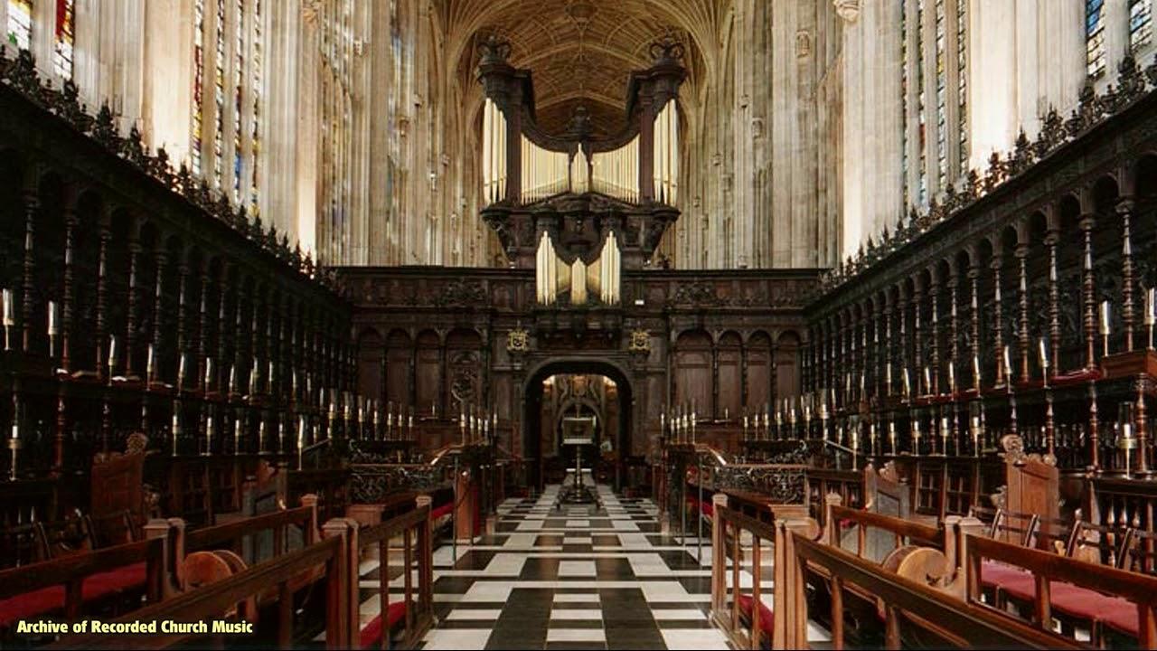 BBC Choral Evensong: King's College Cambridge 1956 (Boris Ord)