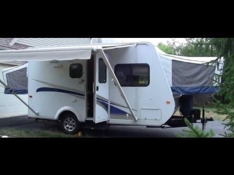 2011 Jayco Jay Feather Sport 17c Ultra Lite Hybrid Travel Trailer Walk Around Video Youtube