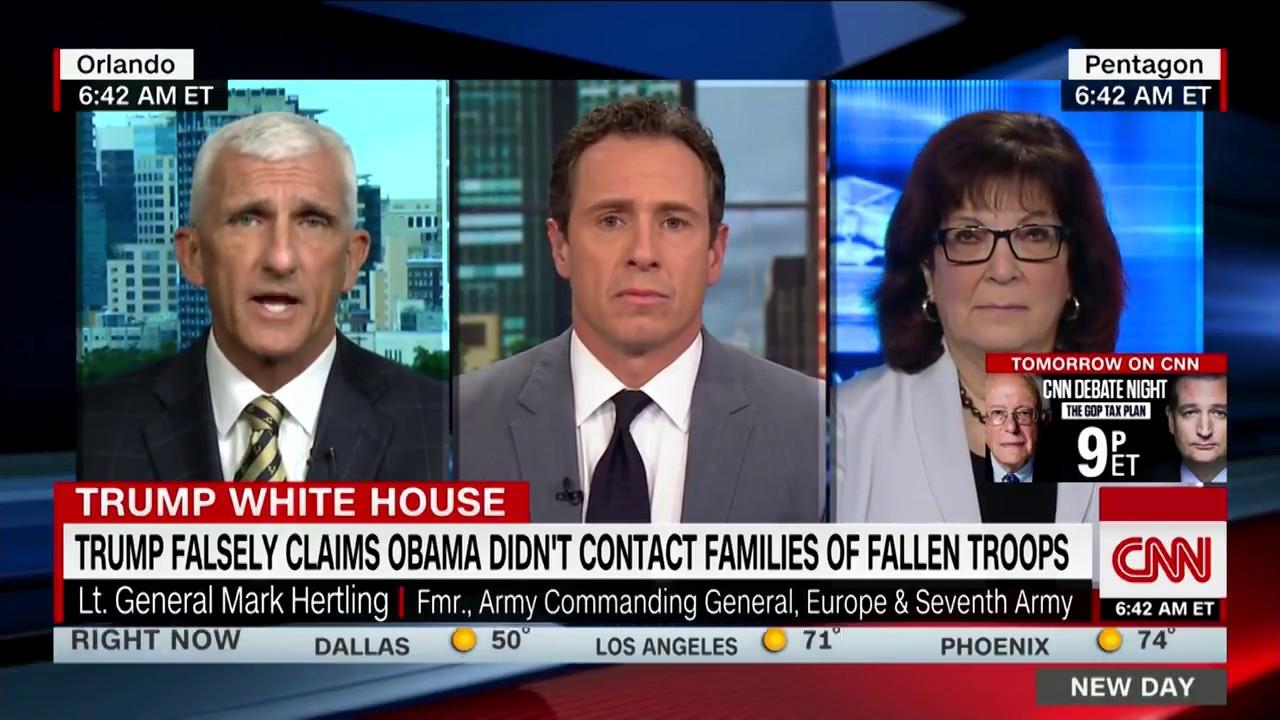 Lt. General: Trump's Obama comment 'shameful' - YouTube