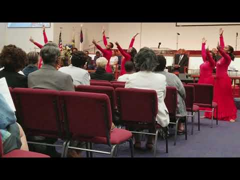 Allen Chapel AME-Dance Ministry-Praise of Zion Dancers-In the Midst of it All-Yolanda Adams-Lay Org
