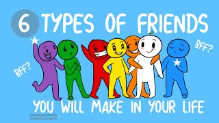 6 Types of Best Friends You Will Make in Your Life