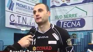 13-11-2011: Intervista ad Aurelio Inserra nel post Molfetta-Reggio Emilia
