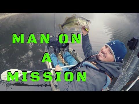 KAYAK FISHING MISSION AT LAKE O' THE PINES DAM