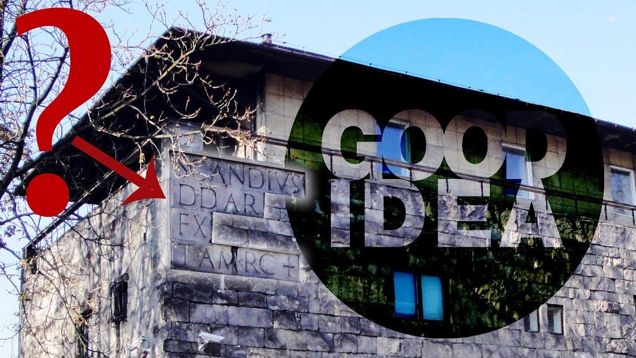 TAJEMNICZE NAPISY, szyfry i rebusy na budynkach | Architecture is a good idea