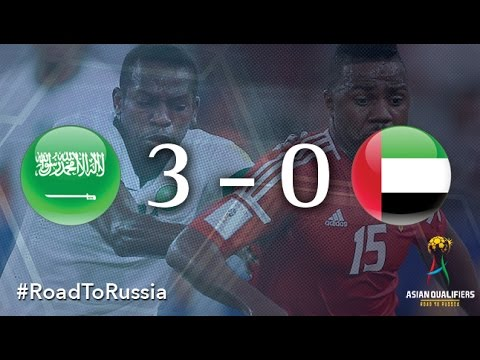 Saudi Arabia vs UAE (Asian Qualifiers - Road to Russia)